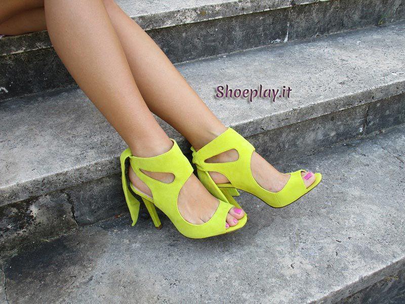 New In: Zara yellow heels S/S 2015