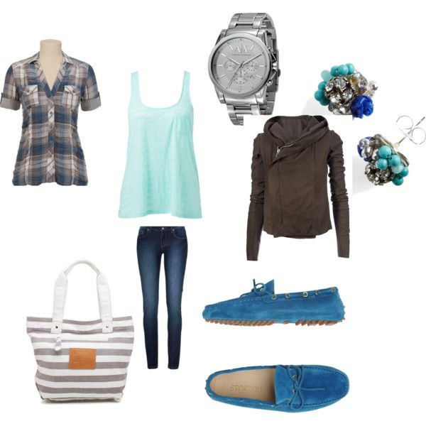 """casual blues"" by ivamana on Polyvore"