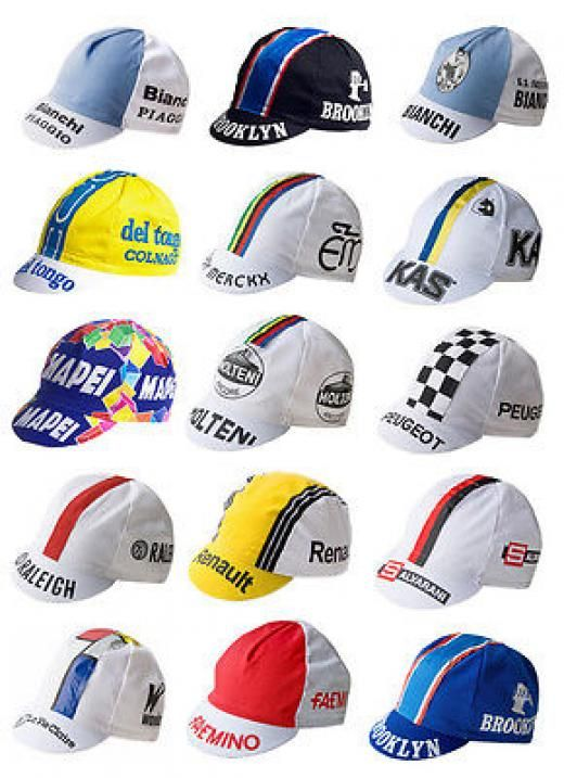 Apis Retro Italian Made Vintage Team Cycling Cotton Cap Eroica Molteni Kas One Size Unisex Adults Italy