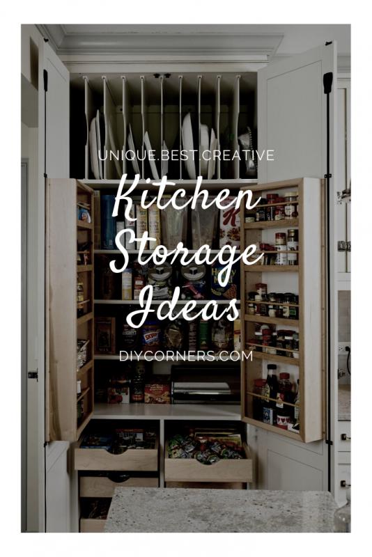 10 Unique Small Kitchen Design Ideas: 10 Unique Clever Kitchen Storage Ideas For Small Spaces