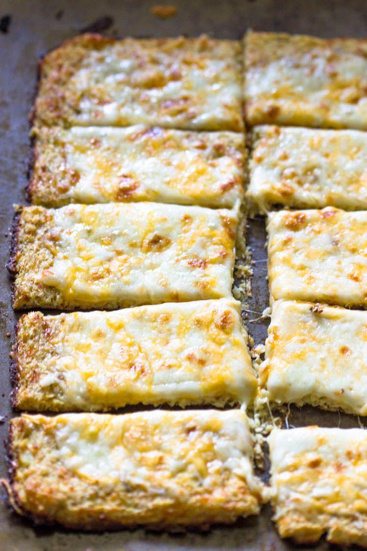 Cheesy Cauliflower Bread Sticks Recipe Food Recipes Cooking