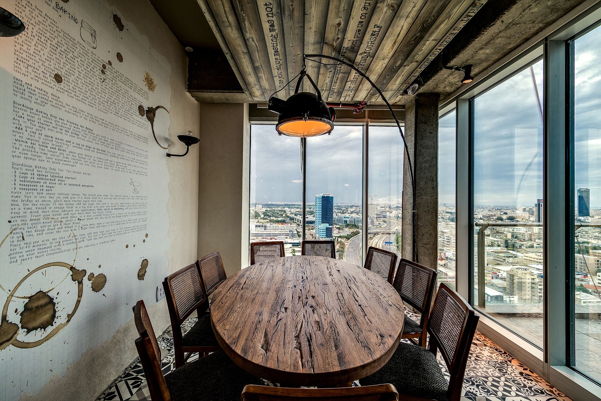 Modern Rustic Meeting Conference Room In Googles Tel Aviv Office