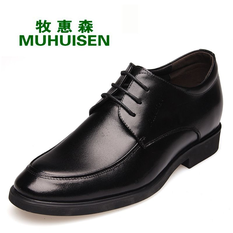 2017 British Style Men S Dress Shoes Height Increasing Business Formal Office Male Footwear Casual Oxfords