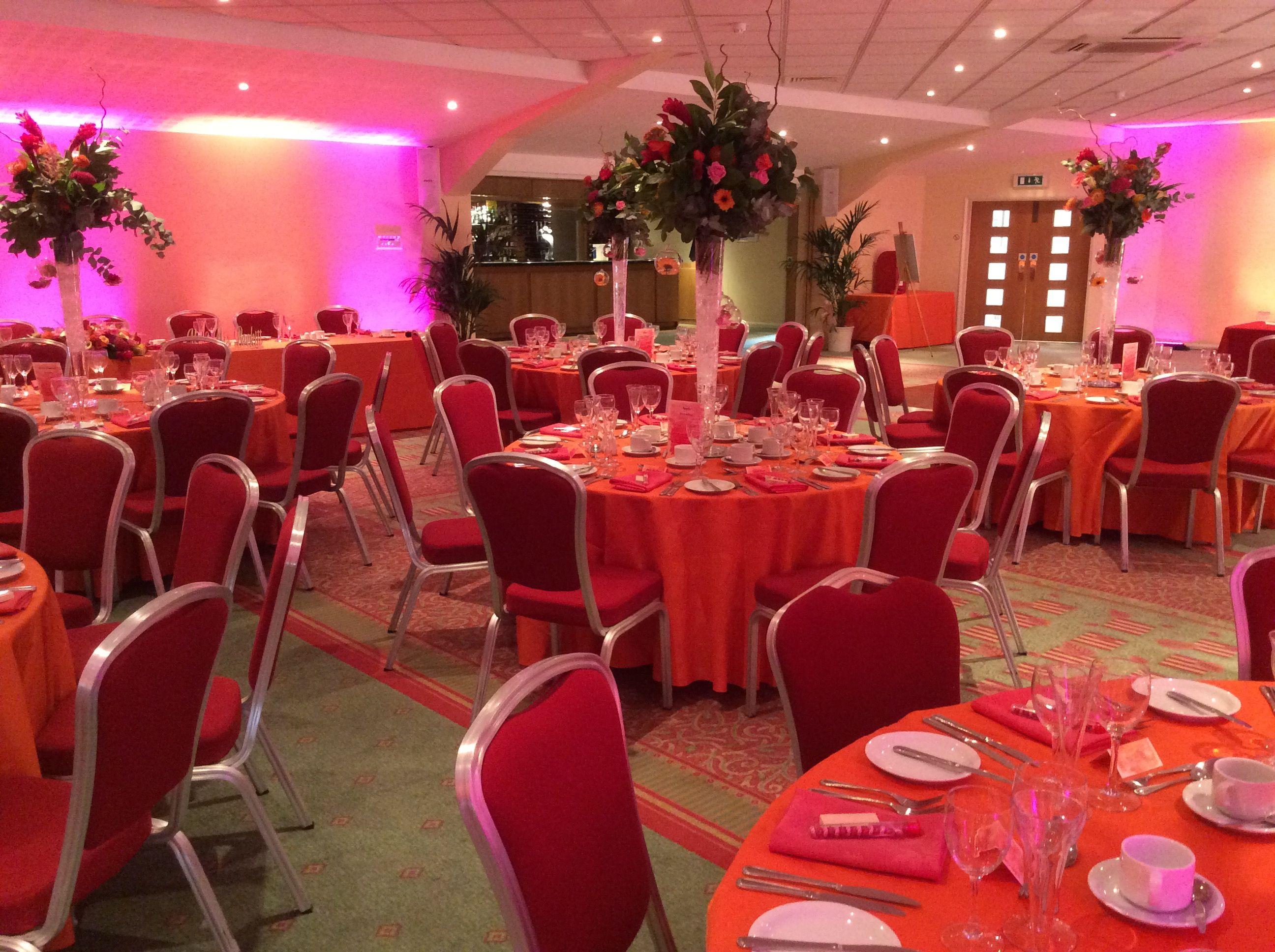 Wedding reception wedding decor ideas  Considered a sunset themed wedding At Greetham Valley we realise