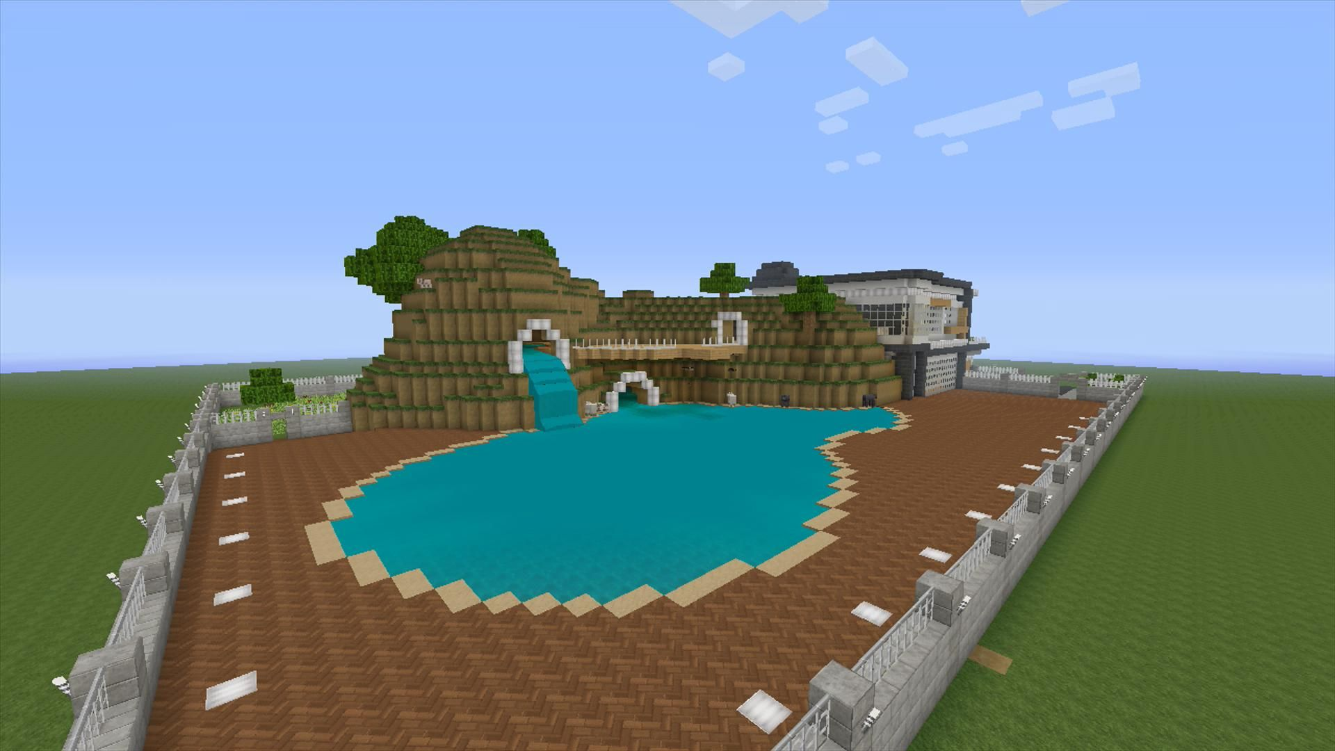 Minecraft Lake House Tutorial Minecraft Pinterest