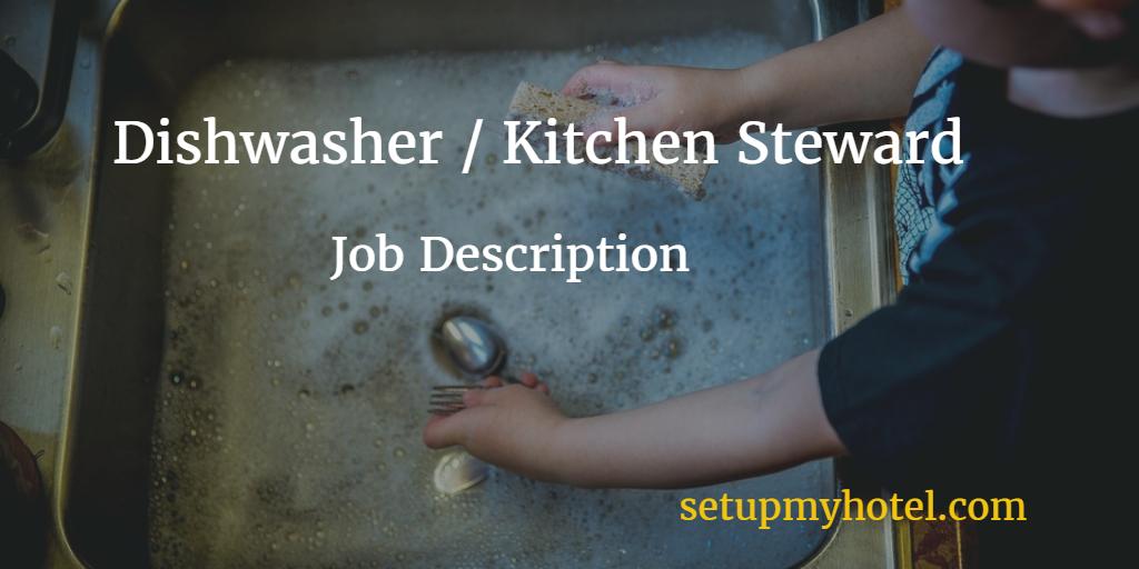 Job Description Of Kitchen Steward In Hotels  Resort  Hotel Job