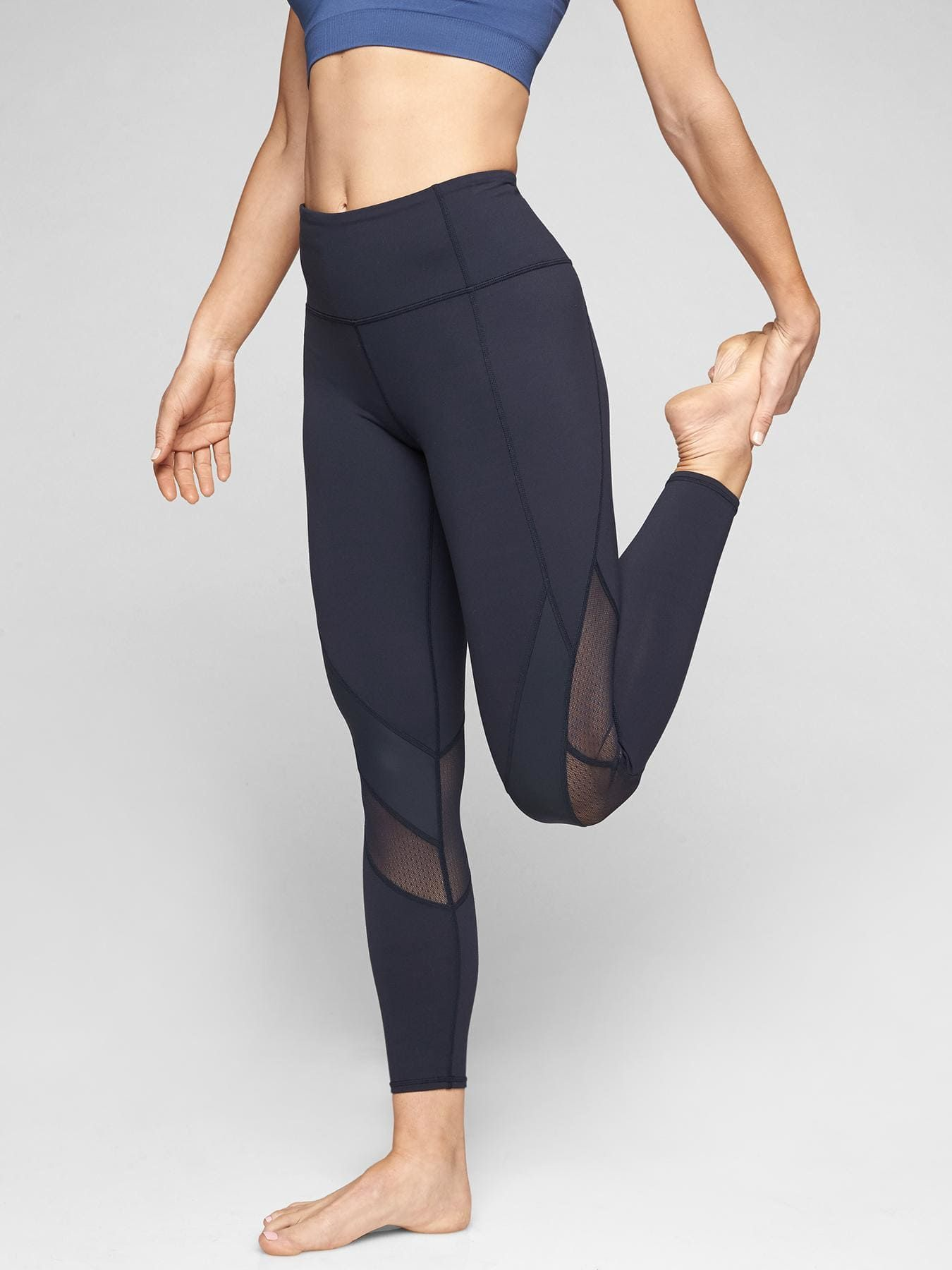 6b97ea7eeaa6d Mesh Shine Salutation 7/8 Tight | Athleta | Want | Leggings are not ...