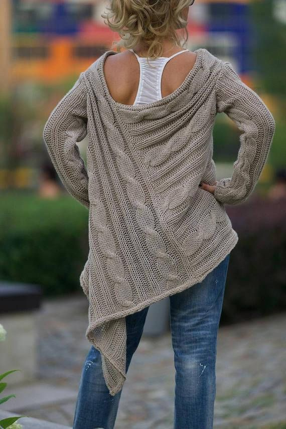 Photo of Women Sweater, Oversized Sweater, Boho Sweater Tunic, Knitted Sweater, Trendy Plus Size Clothing, Off Shoulder Sweater, Loose Knit Sweater