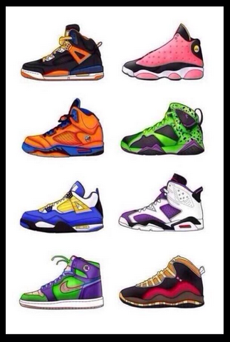 best sneakers 35ea5 6c891 1) Goku 2) Buu 3) Gohan 4) Cell 5) Vegeta 6) Frieza 7) Piccolo 8) Android 17