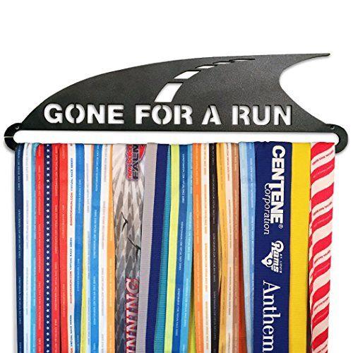GoneForaRun GONE FOR A RUN Runners Race Medal Hanger ** Click image for more details.