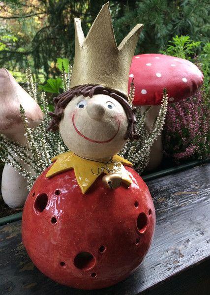 """Deko-Objekte - Teelicht """"Kleiner Prinz"""" (frostfest) - ein Designerstück von HolzToenchen bei DaWanda"""