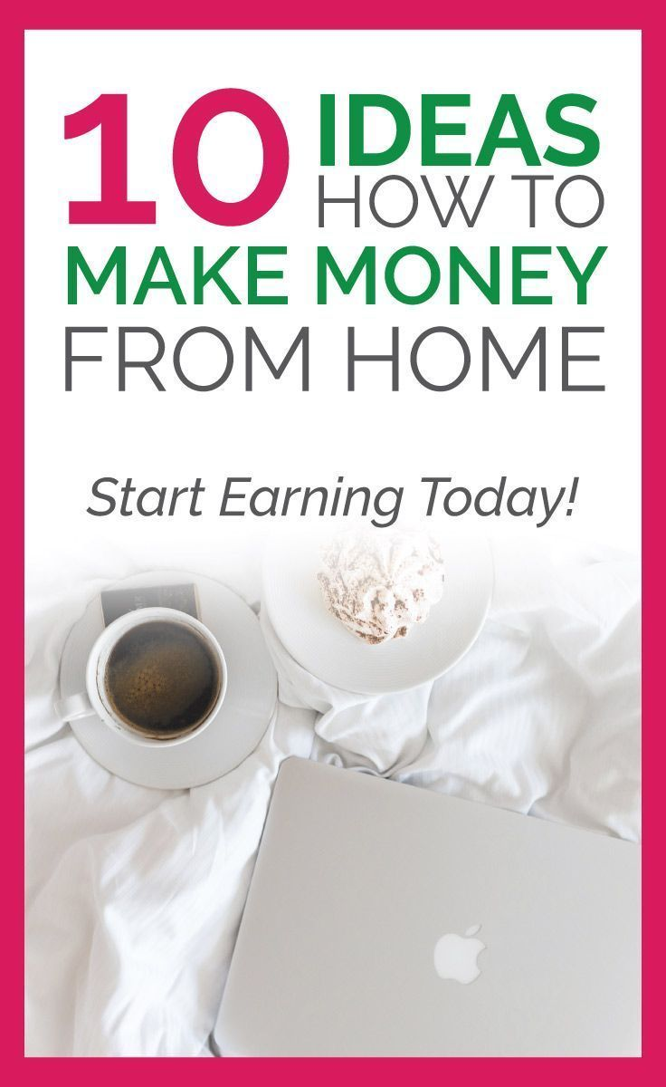 10 ideas how to make money from home - make money fast, make money ...