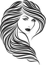 "Beautiful Woman With Long Hair Do ""Stella"""