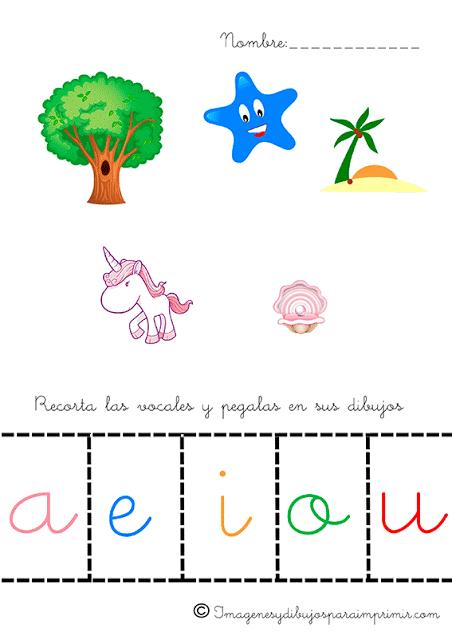 Aprender Las Vocales Para Ninos Imagenes Y Dibujos Para Imprimir How To Memorize Things Head Start Gaming Logos