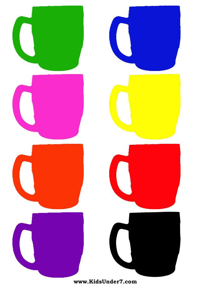 Toddler Color Learning Printables | Colours for kids: | children\'s ...
