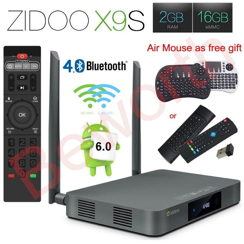 149.00$  Buy now - http://ali00o.worldwells.pw/go.php?t=32785988324 - Zidoo X9S Android 6.0 Smart TV Box 2GB 16GB Realtek RTD1295 Quad-Core 2.4G/5.0G Wifi Bluetooth 4.0 HDMI IPTV Europe Media Player