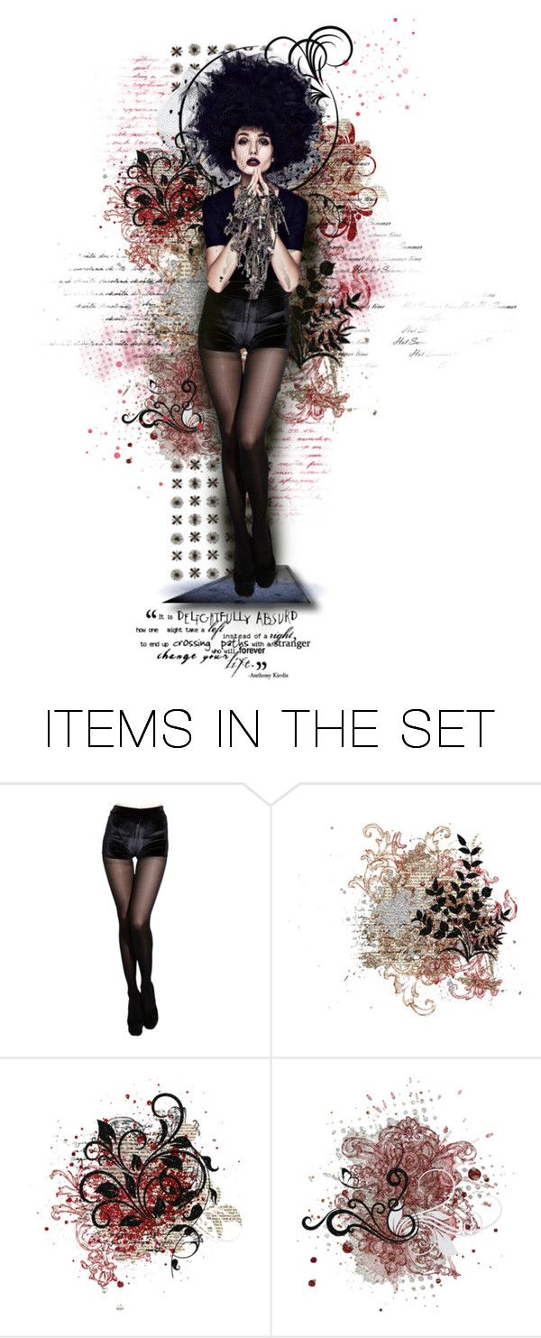 """Delightfully Absurd"" by raynefyre ❤ liked on Polyvore featuring art"