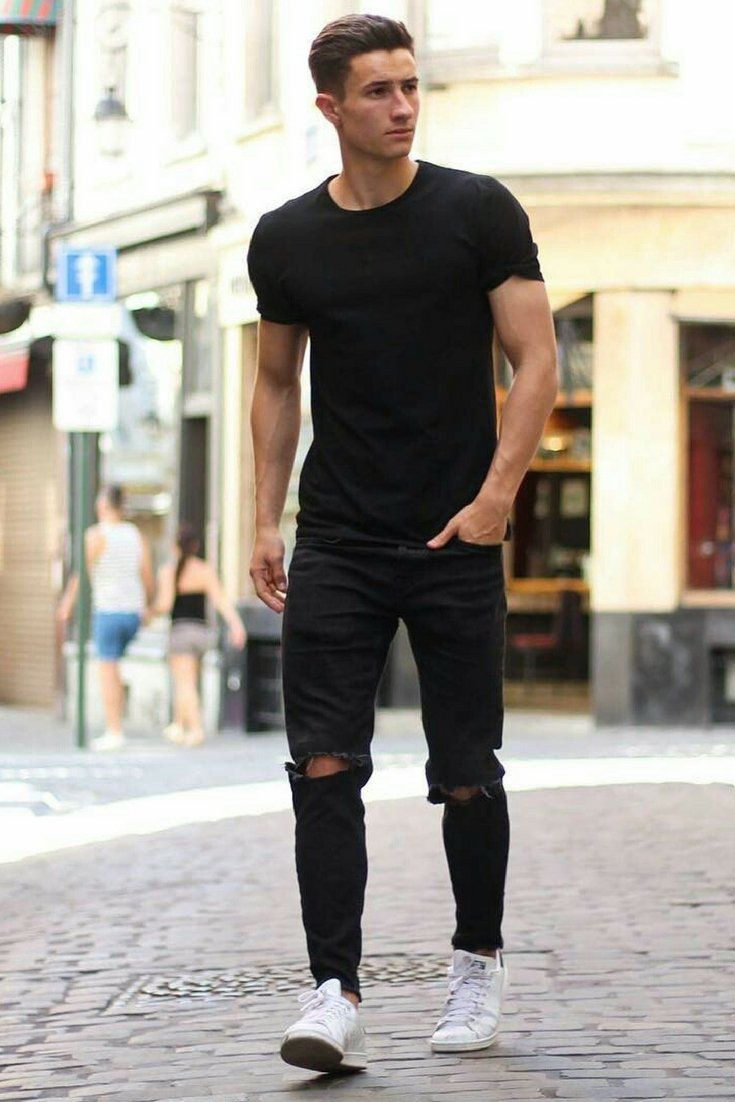 14 Coolest All Black Casual Outfit Ideas For Men in 2019 ...