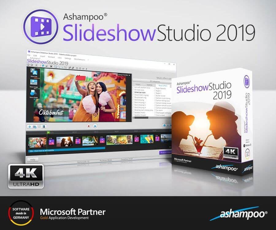 Ashampoo Slideshow Studio 2019 Es Un Software Para Windows Con El Que Podemos Crear Vídeo Presentaciones Gratis De Form Software Application Development Studio