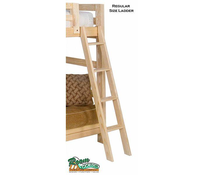Basic Wood Bunk Or Loft Bed Ladder Loft Bed Wooden Bunk Beds