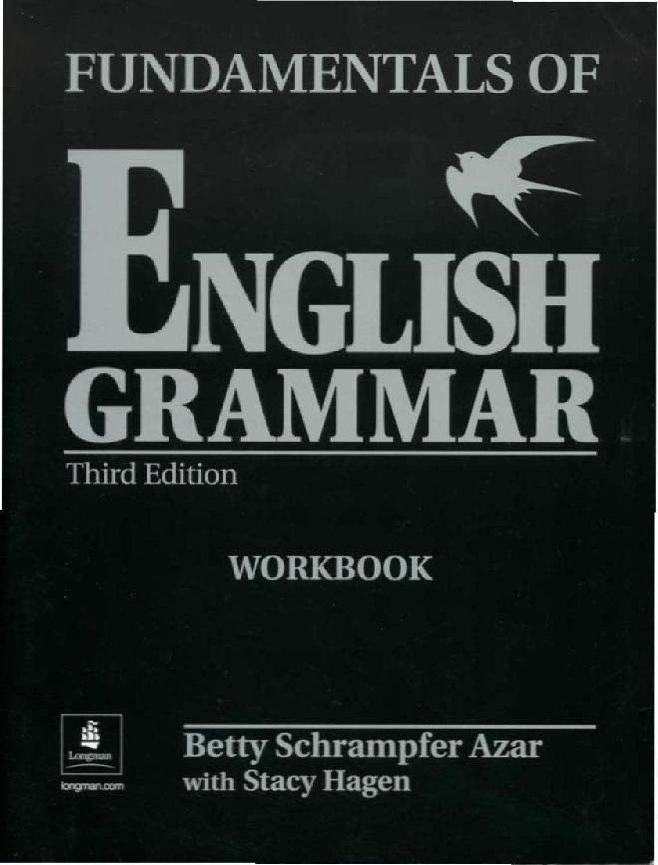 Azar Fundamentals Of English Grammar 3 Ed Workbook