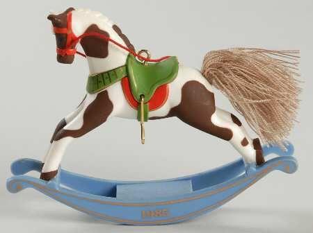 DREAM HORSE 2015 HALLMARK KEEPSAKE ORNAMENT  AMERICAN QUARTER HORSE  BROWN WHITE