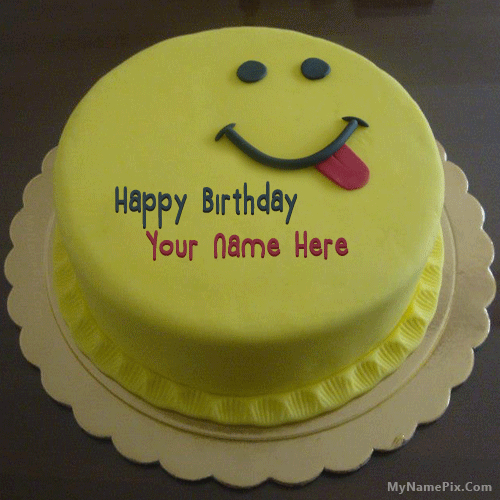 Design your own names of Birthday cake flowers