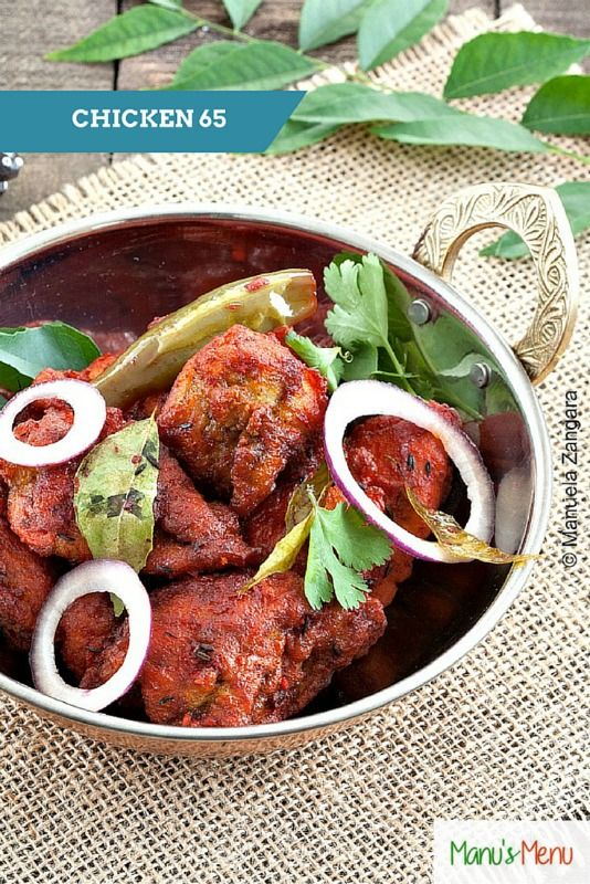 Chicken 65 recipe spicy recipes recipes and food chicken 65 a deliciously spicy recipe from the south of india forumfinder Choice Image