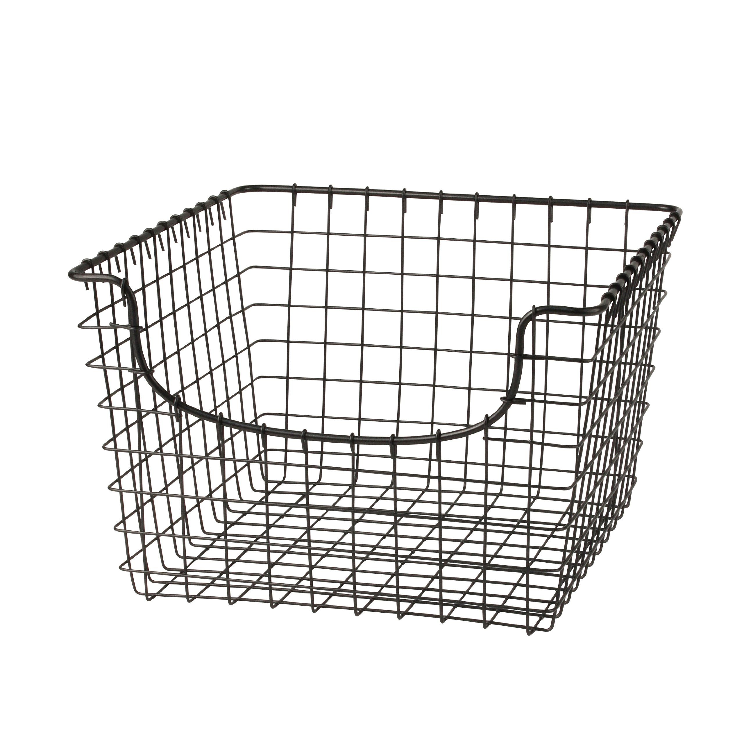 Spectrum 98976 Scoop Basket, Medium, Cool Gray   For The Powder Room    Storage For Toilet Paper And Extra Hand Towels