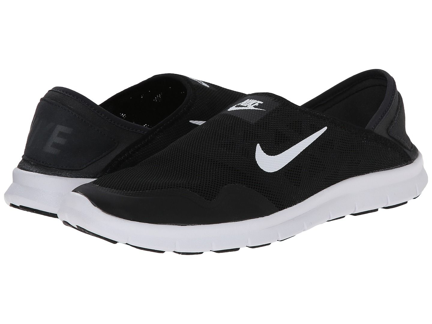 sale retailer 6eb02 80bcd Nike Orive Lite Slip-On Black White - Zappos.com Free Shipping BOTH Ways