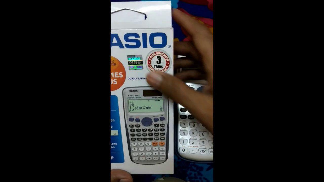 How To Test Original Casio Fx 991 Es Plus Calculator Tutorial In Id Bangla
