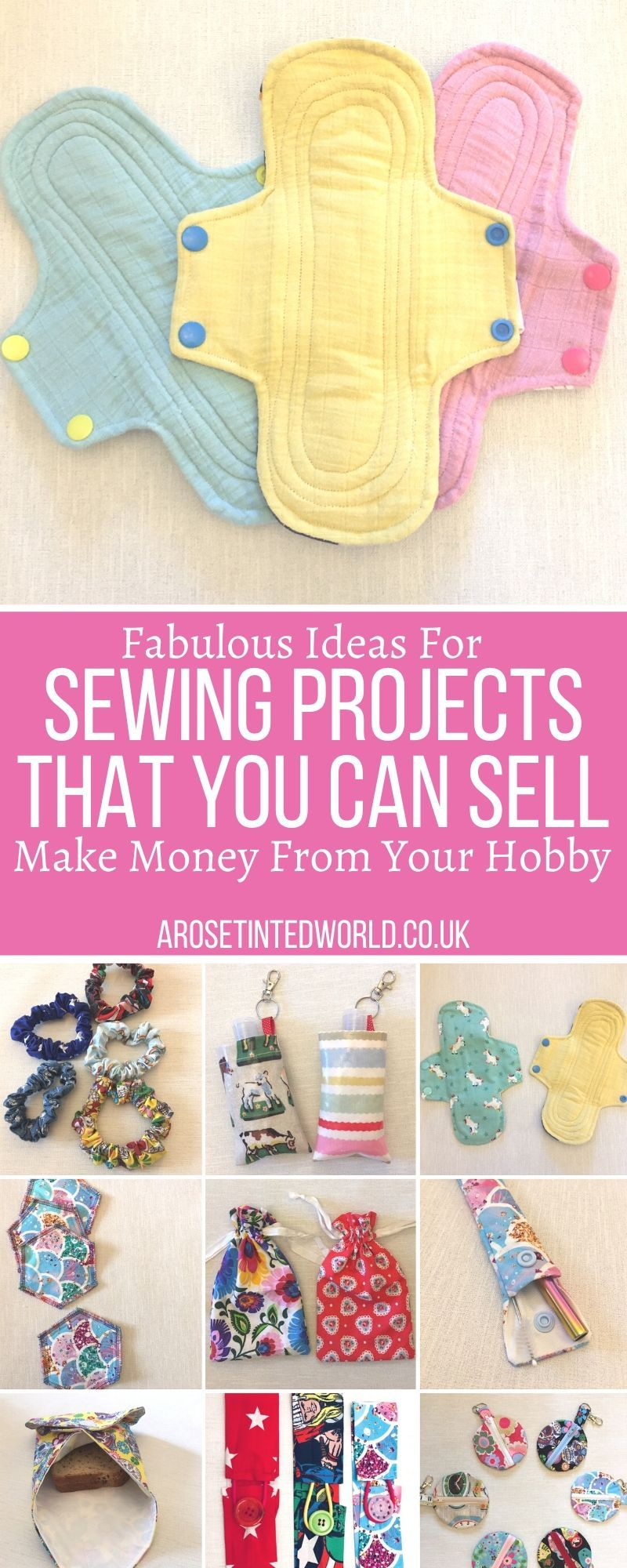 Sewing Projects That You Can Sell -   18 fabric crafts to sell gift ideas
