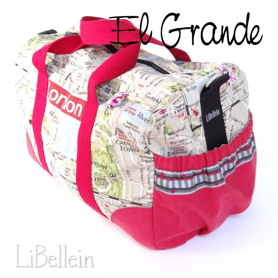 Reisetasche gewünscht! (Libellein) | Reisetaschen, Farbenmix und ...