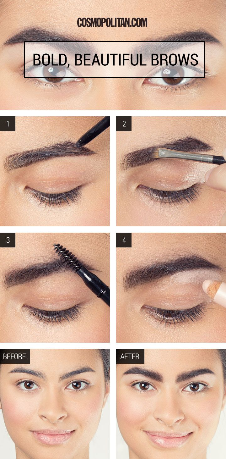 How to Fake Fuller Eyebrows in SECONDS Brows, Threading