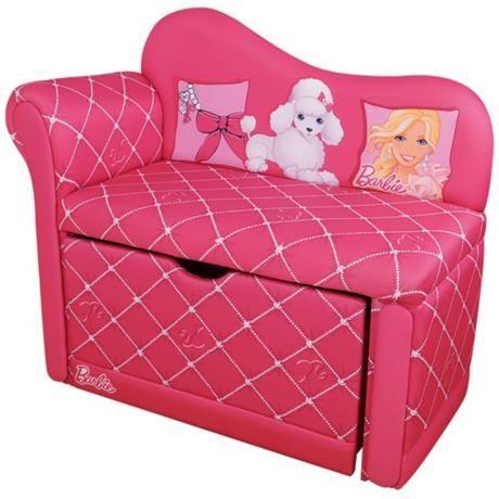 Barbie Glam Storage Chaise Chair | Kids Items | Pinterest | Storage