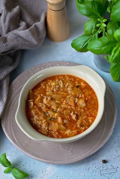 Zupa Gołąbkowa Smaki na talerzu