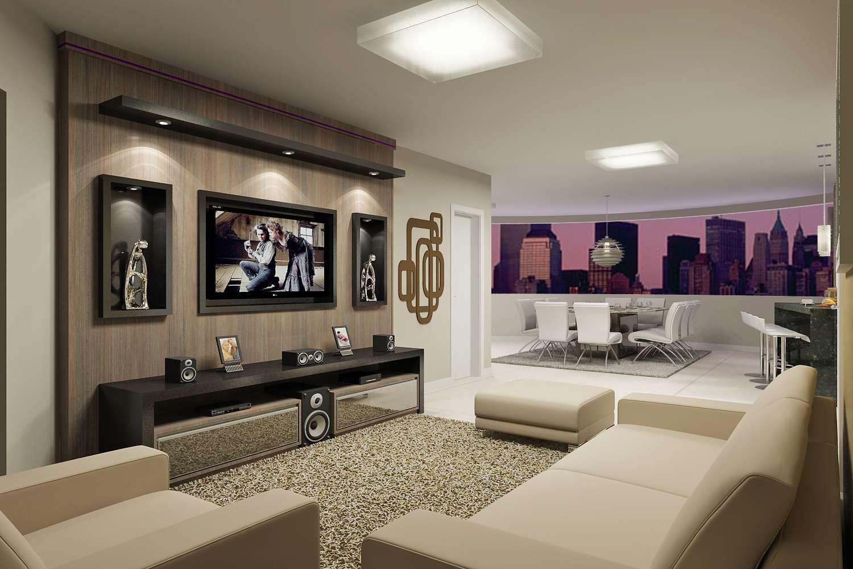30 Tipos De Moveis Sob Medida Para Sala Living Rooms Tv Units And Room