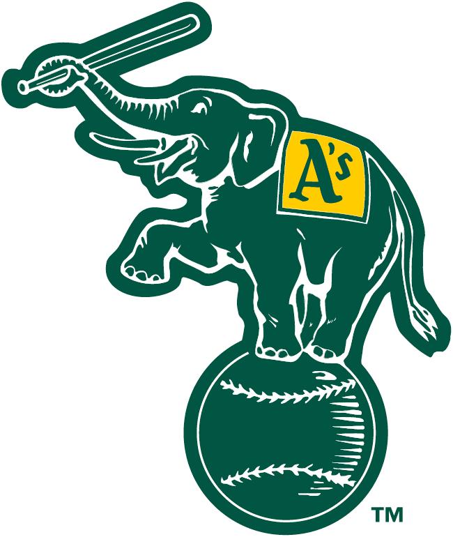 Oakland Athletics Alternate Logo Athletics Logo Baseball Teams Logo Oakland Athletics