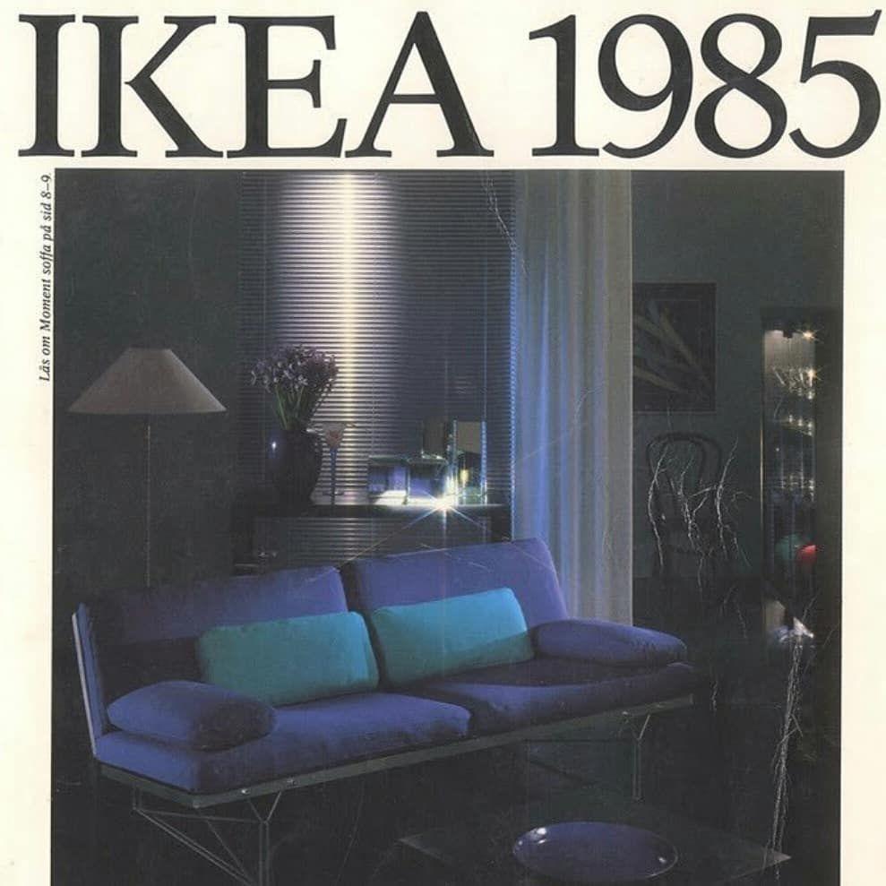 Instagram Post By Fhlurs Dec 18 2018 At 12 53pm Utc Interior Design 80s Interior Design Ikea Catalog [ 989 x 989 Pixel ]