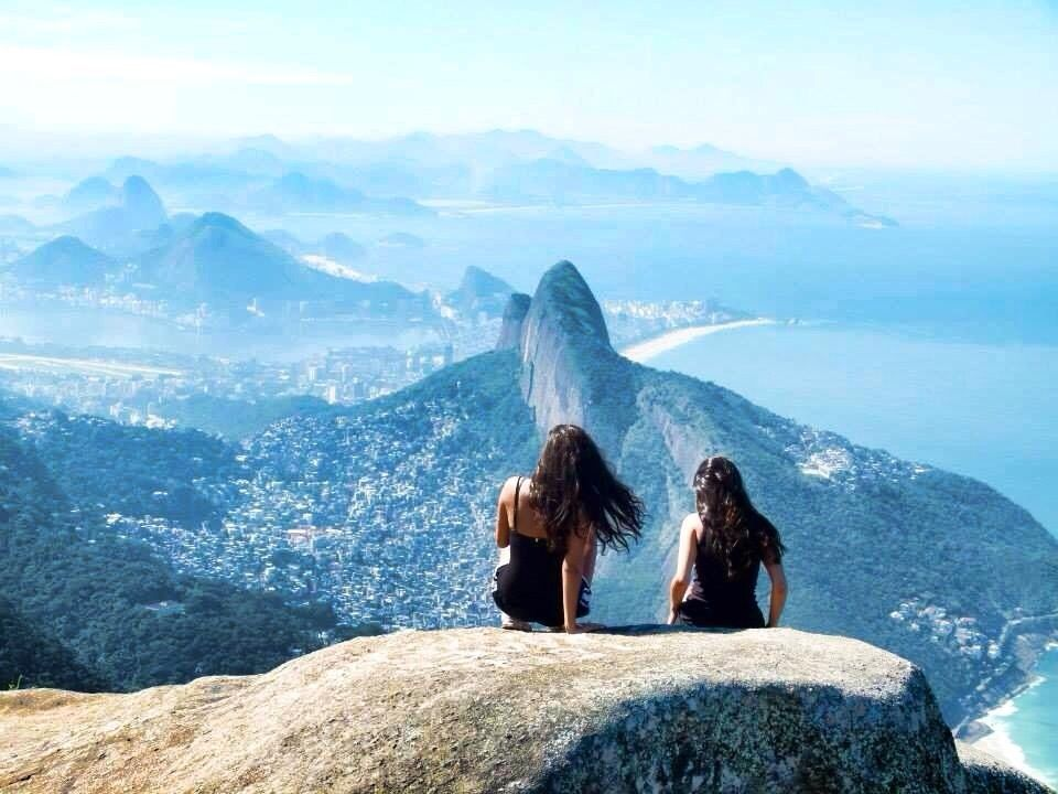 Pedra da Gávea, overlooking Rio de Janeiro