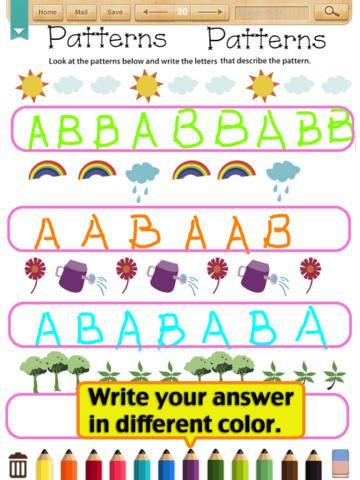 Pattern Worksheet Grade1 Google Search Pattern Worksheet Kids