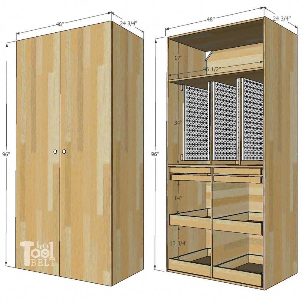 Plywood Garage Cabinet Plans Cabinet Plans Garage Storage