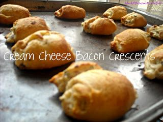 SteakNPotatoesKindaGurl: Cream Cheese Bacon Crescents