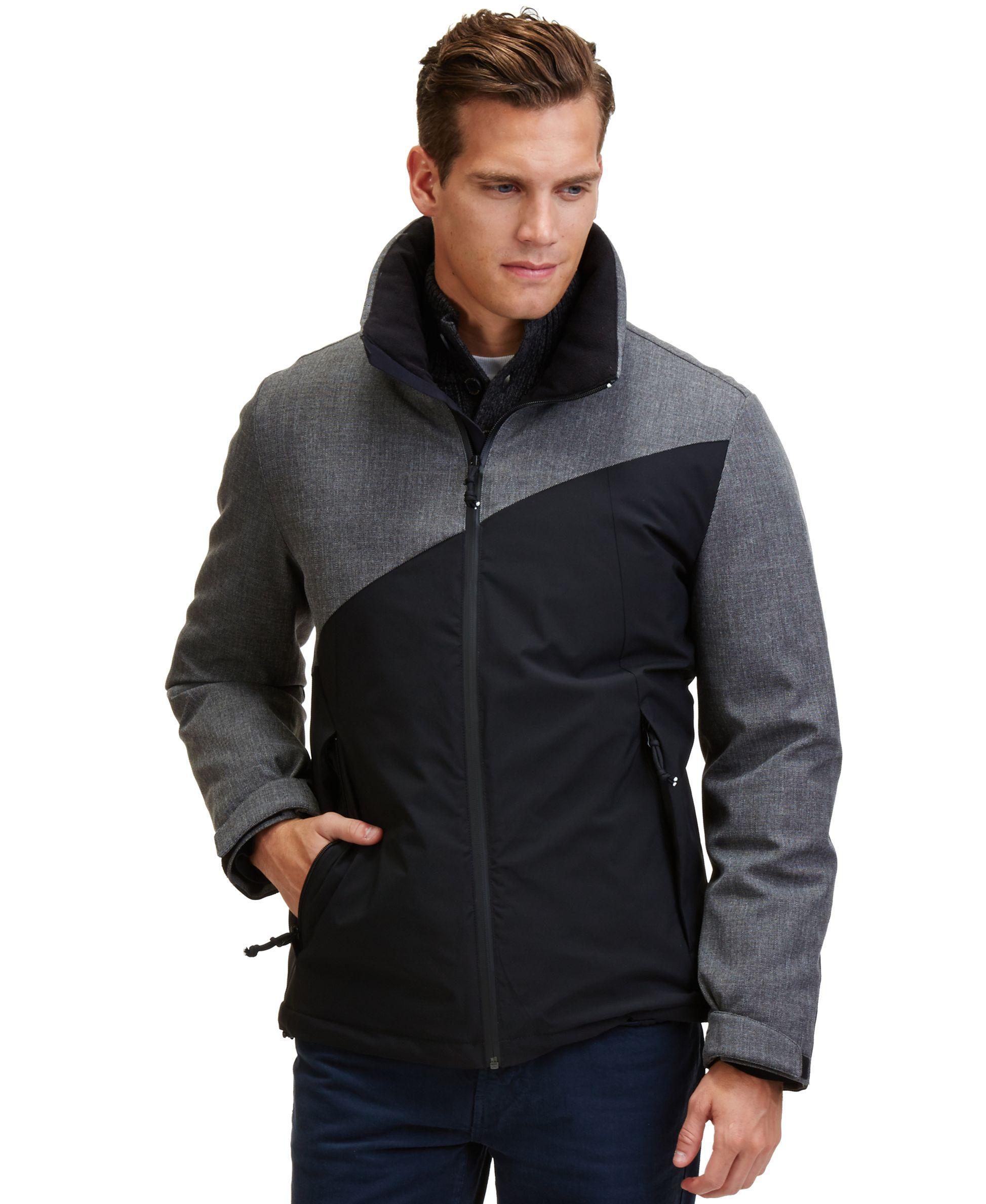 Nautica Color Block Down Bomber Jacket Coats Jackets Men Macy S High Fashion Men Athleisure Men Athleisure Fashion [ 2378 x 1947 Pixel ]