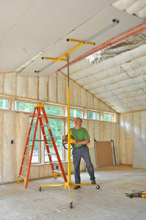 How To Hang Drywall Hometips Hanging Drywall Drywall Garage Floor Paint