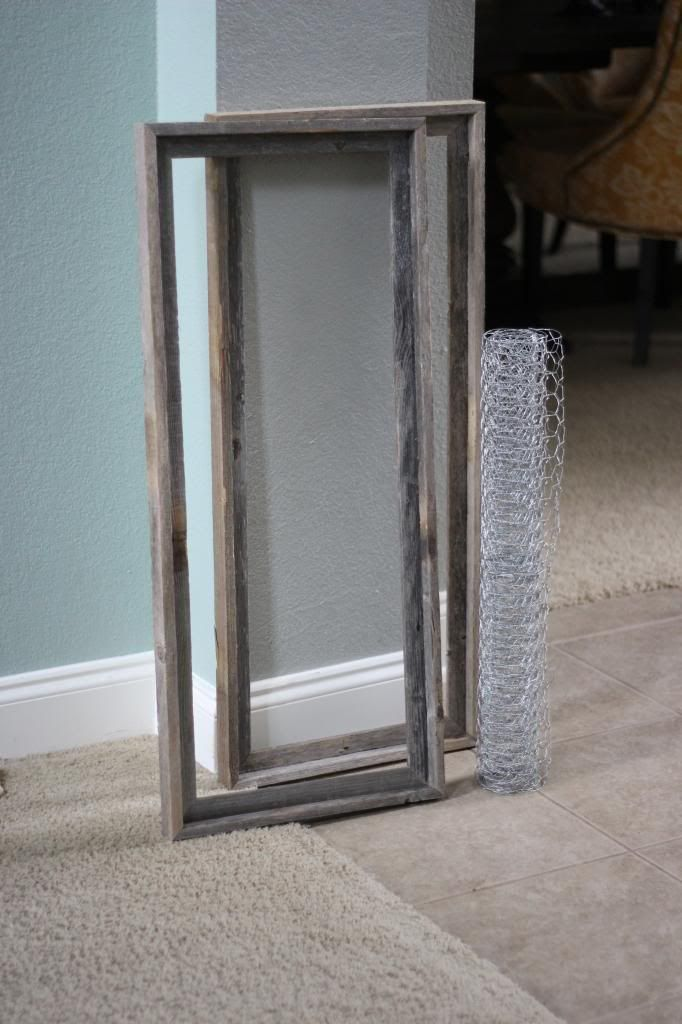 Chicken wire frame tutorial - The Chronicles of Ruthie Hart | Crafty ...