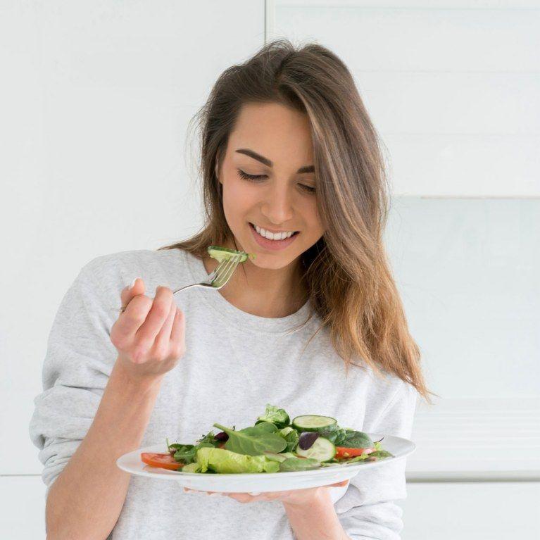 Diät verlieren Gewicht, ohne mit dem Essen aufzuhören