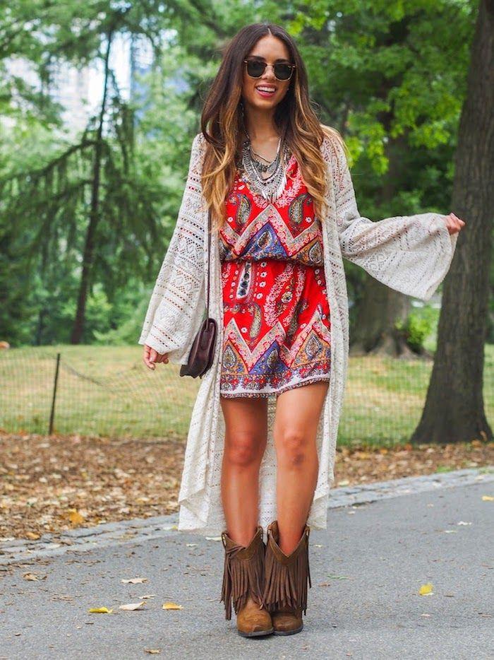Sommerkleider im hippie style