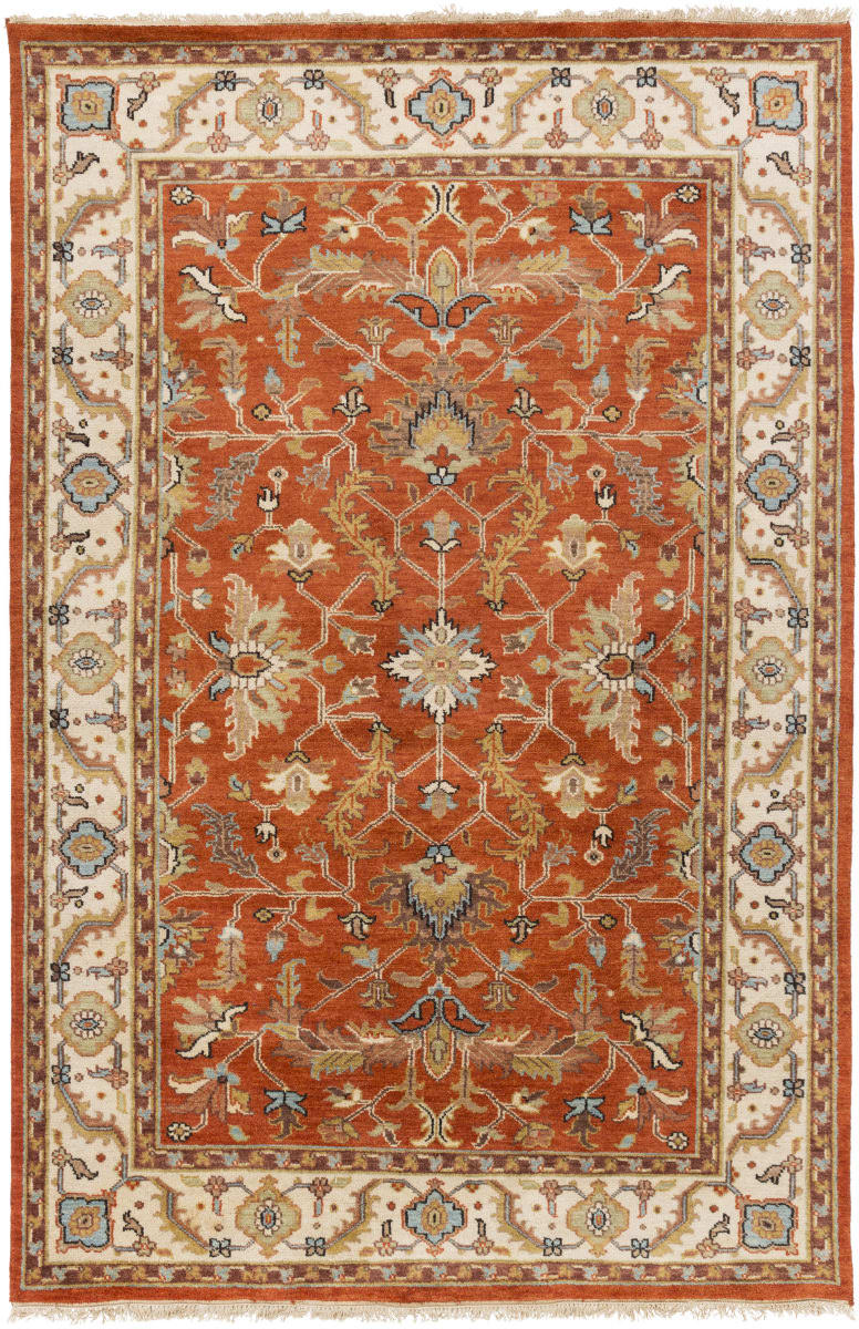 Surya Zeus Zeu 7824 Butter Area Rug Clearance Traditional Area