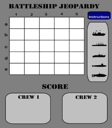 Battleship Jeopardy Template | math | Pinterest | Battleship, Math ...